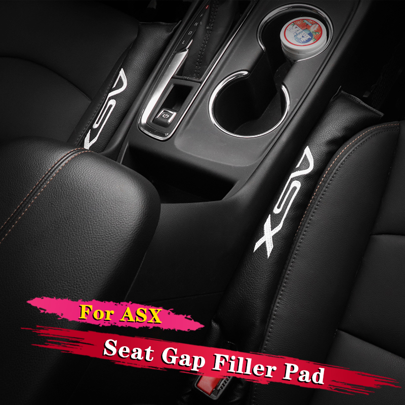 2Pcs Seat Gap Filler Soft Pad Padding Spacer For Mitsubishi ASX 2011 2012 2013 2014 2015 2016 2017 2018 Car Accessories Styling