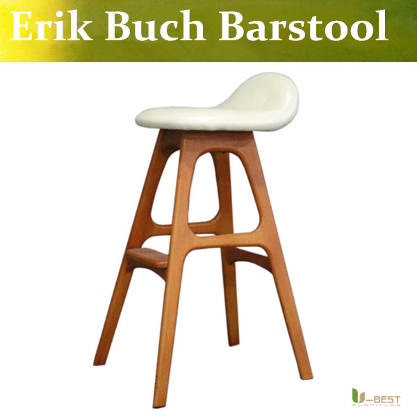 U Best Modern Designs Barstool Erik Buch Bar Stool Walnut Color Danish Interior Bar Stool Perfect For Kitchen Bench Or Bar Area