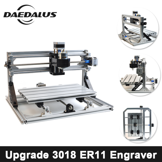 CNC Router 3018Engraver Laser Cutter Diy Engraving Machine Pcb Wood Router GRBL Control Wood Cutters For CNC Milling Machine