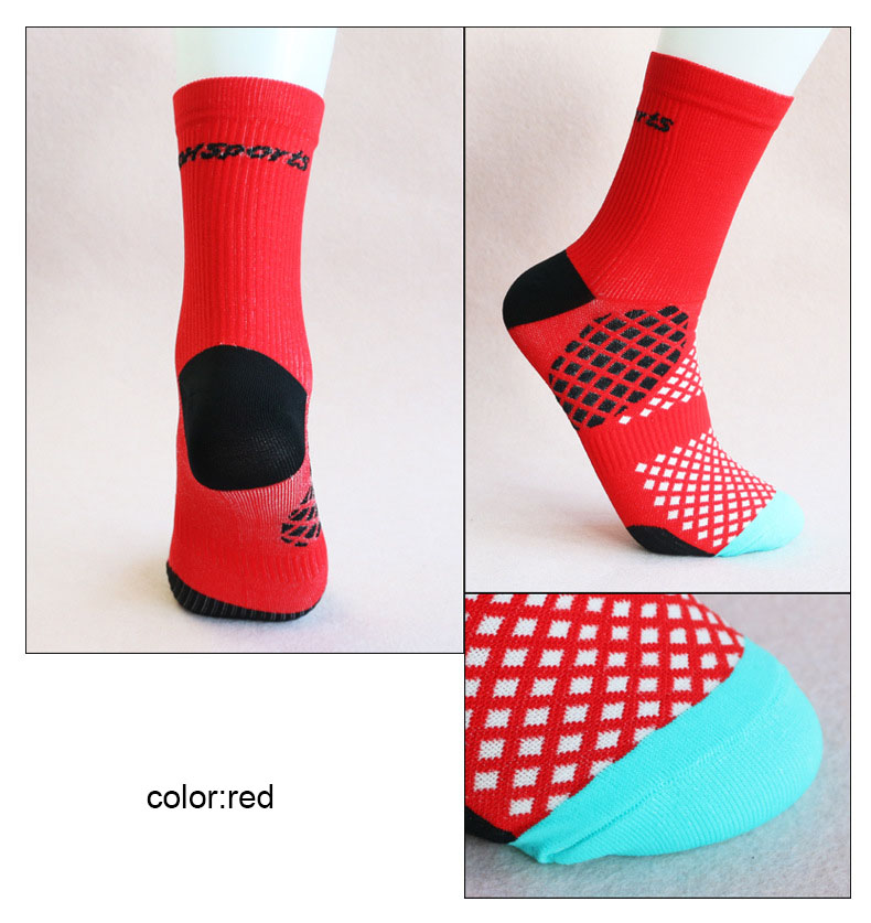 Outdoor Professional sport MTB Cycling socks Protect feet breathable - Sportswear and Accessories - Photo 5