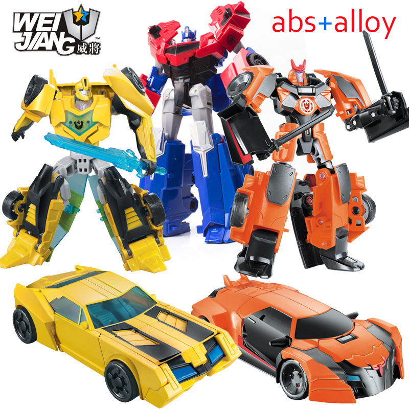 NEW Anime Series Action Figure Toys Transformation 5 Robot Car ABS Plastic Class Cool juguetes Model Boy Toy Christmas Gifts цена