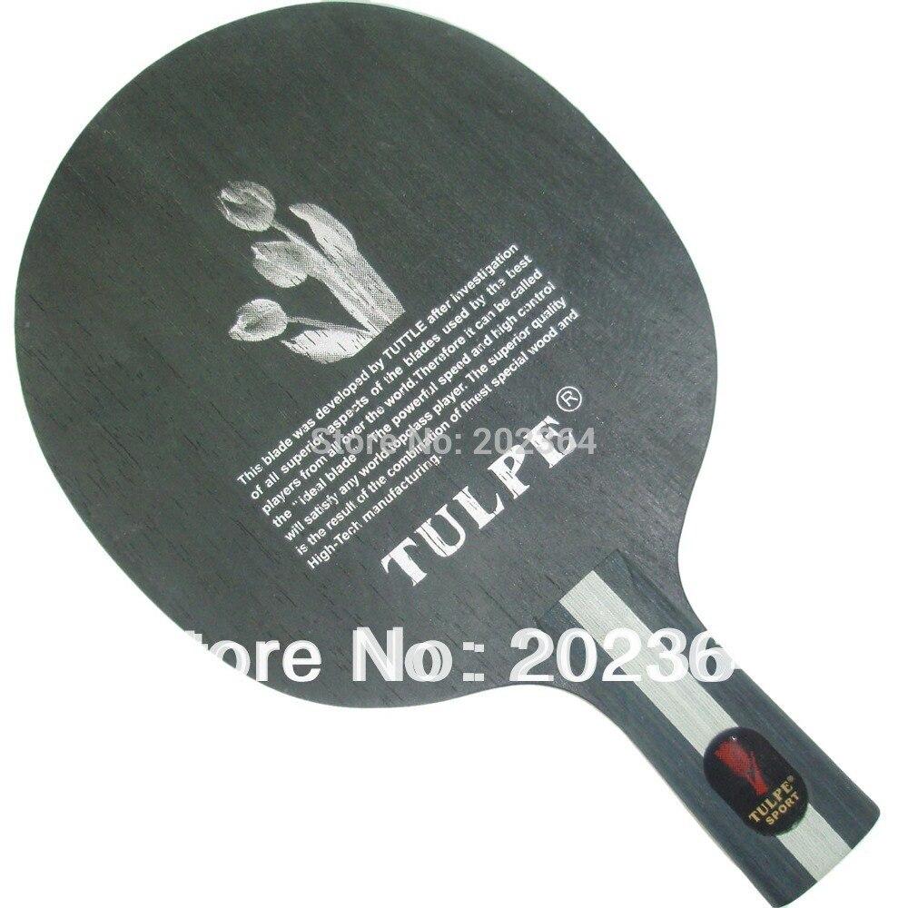 Kokutaku Tulpe T-603 lame de ping-pong ronde en bois poignée courte