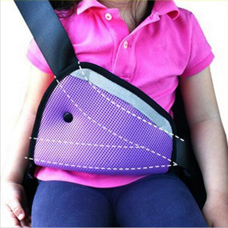 CheMeiMei Car Safe Fit Seat Belt Adjuster Car Safety Belt Adjust Device Baby Child Protector Covers Positioner Drop shipping(China)