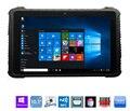 Китай Windows 10 Pro 10.1 дюймов Промышленные Прочный Водонепроницаемый Планшетный Пк Телефон Android LTE Отпечатков пальцев 2D Сканер Штрих-Кода