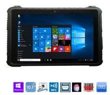 """Китай Промышленный Прочный планшетный ПК сенсорный Windows 10 Pro 10,1 """"жесткий водонепроницаемый телефон Android 4G LTE считыватель отпечатков пальцев toughbook"""