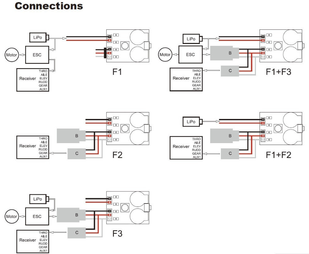 matek signal loss alarm loss aircraft finder & 2 6s rc lipo RC ESC Wiring Servo Wiring Diagram 9ch rc plane wiring diagram