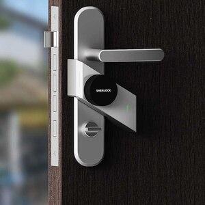 Image 3 - Sherlock serrure de porte intelligente Bluetooth, empreinte digitale et mot de passe, sans clé, serrure électronique intégrée Bluetooth, application pour téléphone