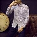 Amazon Качества Груза падения Рубашки Мужские 2016 Новая Мода Хлопок Мужчины Повседневная Рубашка Горячие Продажа