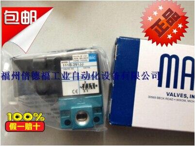 New American MAC high speed solenoid valve 111B-291JJ головка торцевая ударная глубокая шестигранная 24 мм 1 king tony 843524m