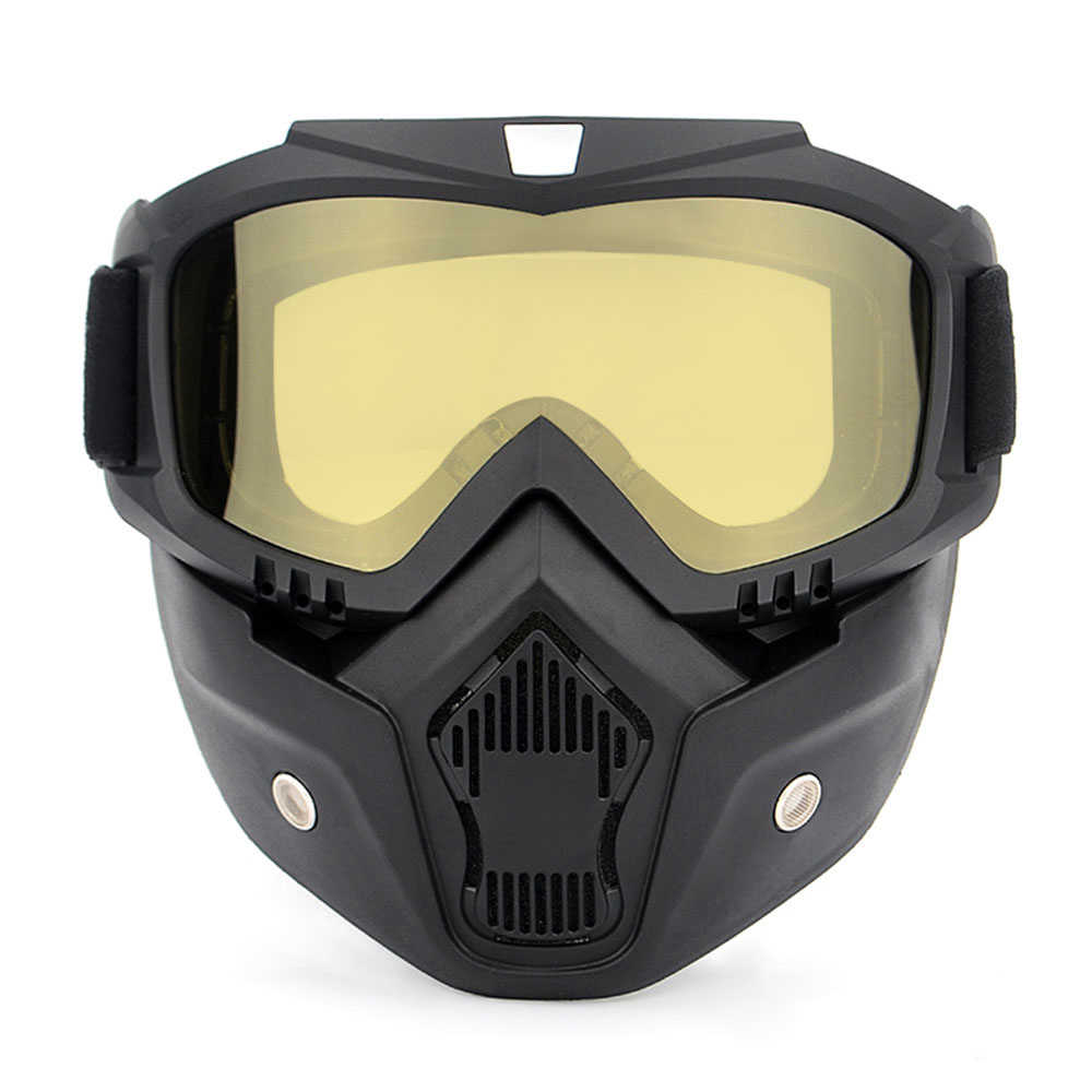 Велосипед стекло велосипедные очки для мотоциклистов UVA400 зимние лыжные очки катания на коньках спортивные очки с съемная маска