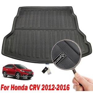 Image 3 - ホンダ CRV CR V CR V 2012 2016 リアトランク Boot Mat ライナー荷物トレイ床カーペット 2013 2014 2015
