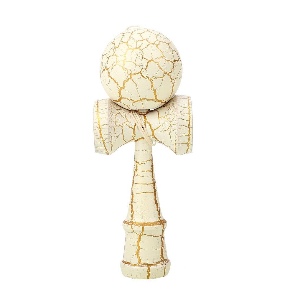 Красочные мастерство мяч костюм рефлексы игрушка кендама для японских Прямая - Цвет: Platinum
