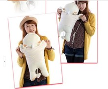 The lovely sweet teddy bear doll plush lying teddy bear toy birthday gift about 60cm light brown