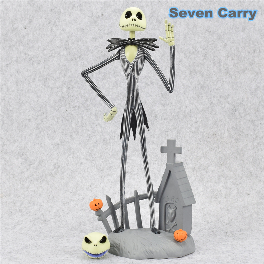 30cm The Nightmare Before Christmas Jack Chair PVC Action Figure ...
