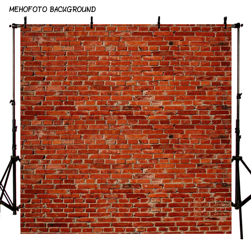 8X12ft Art fabric photography backdrops Red brick wall backdrop vinyl photography background F-1018 photography backdrop wooden car brick wall background vinyl backdrops for photography page 2