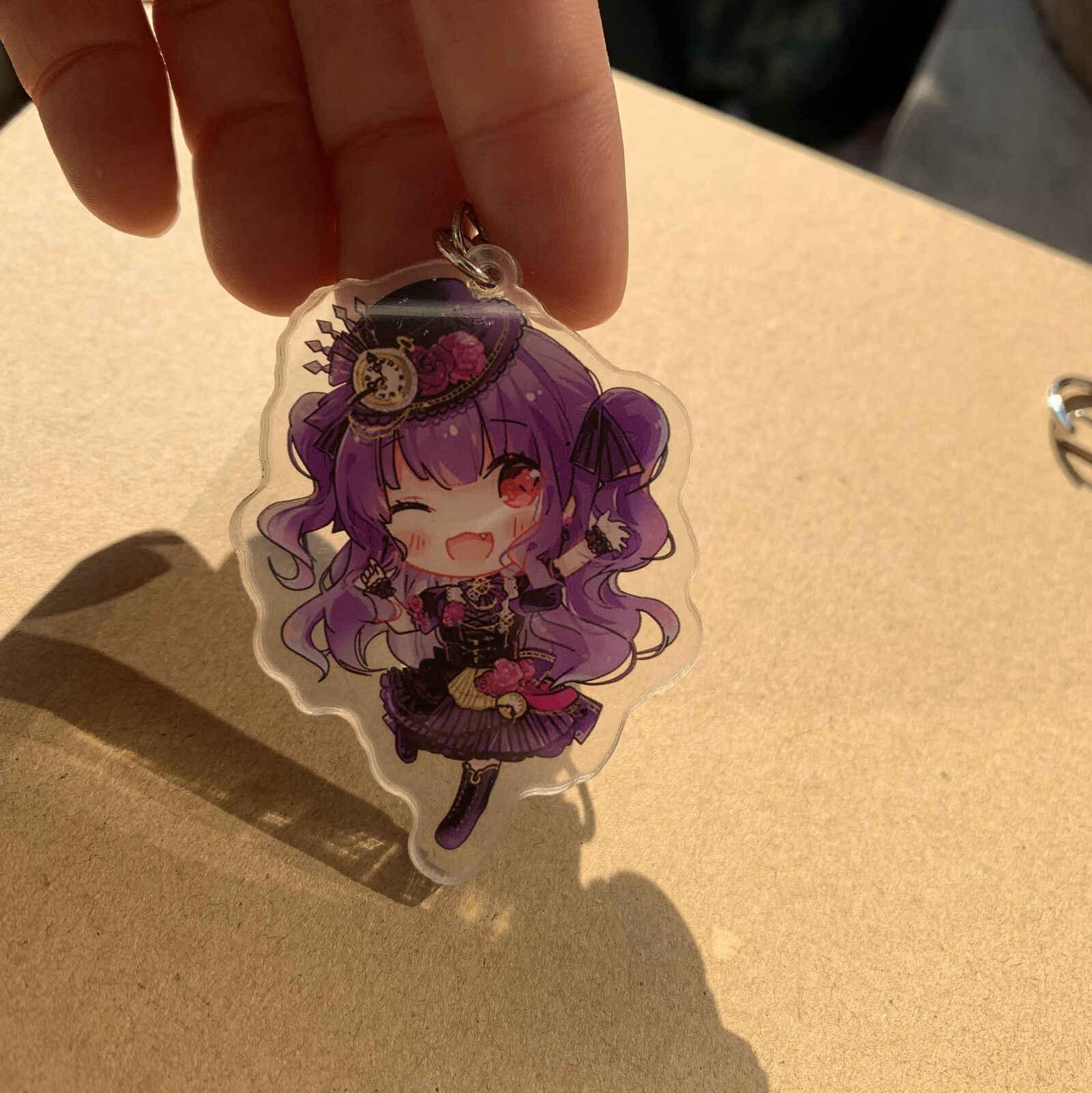 BanG Rêve! Porte-clés en acrylique Roselia Minato Yukina Hikawa Sayo