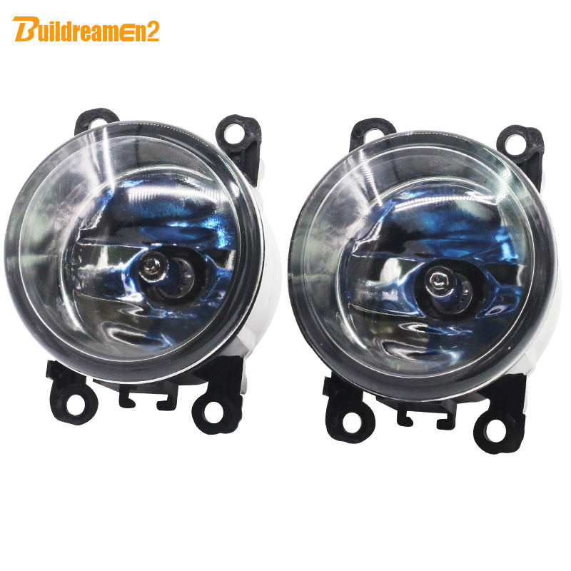 Buildreamen2 For Dacia Duster Sandero Logan For Mitsubishi L200 Outlander Pajero 2 X 100W Car Styling Fog Light Halogen Lamp 12V dacia sandero б у в европе