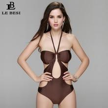 Bodysuit Sexy High Cut 1 One Piece Swimsuit Backless Bandage Swimwear Women Bathing Suit Beachwear Monokini
