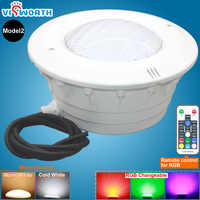 RGB Par56 Светодиодный светильник для бассейна IP68 лампа 24 Вт 36 Вт Светодиодный подводный светильник s AC/DC 12 В SMD5730 линейная ниша для фонтана пруда