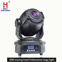 Moving Head Light 90w RGBW 4IN1 gobo LED dmx 512 control dj diso party lights