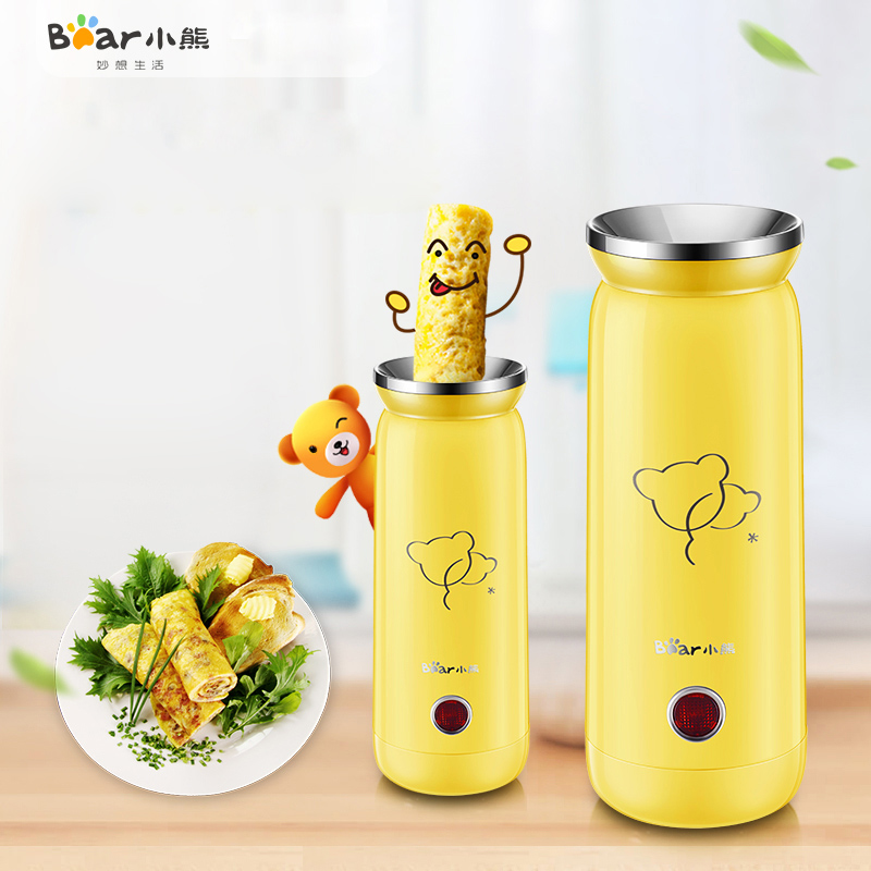Bear JDQ-B01G2 Vertical Multifunction Fried Egg Breakfast Egg Roll Sausage Machine Egg Cup Remove The Plug Not Sticky Pot bear multi cooker crepe makers fried eggs for breakfast jdq c3011