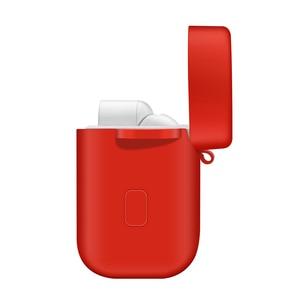Image 5 - Xiaomi Airdots プロ耐衝撃イヤホン保護カバーポーチ xiaomi 空気 TWS ヘッドセットアクセサリーフック