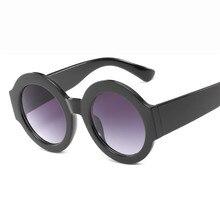 040bbb13fdfa3 2018 nova moda homens e mulheres óculos de sol HD europeu e americano  tendência projeto original quadro redondo retro anti UV óc.
