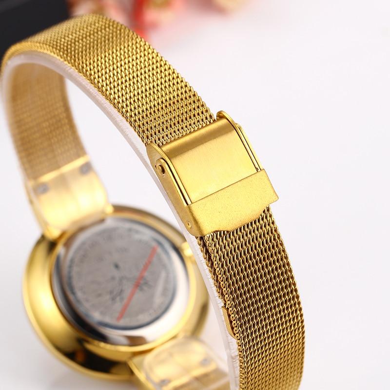 Miss Fox Women Watches Minimalist Super Slim Dw Simple Watch Women Stainless Steel Ladies Gold Watch Waterproof For Female Clock 5