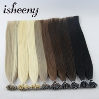 Isheeny Remy Human Micro Ring Hair 18 Inches 0 8g S Nano Ring Extensions In Micro