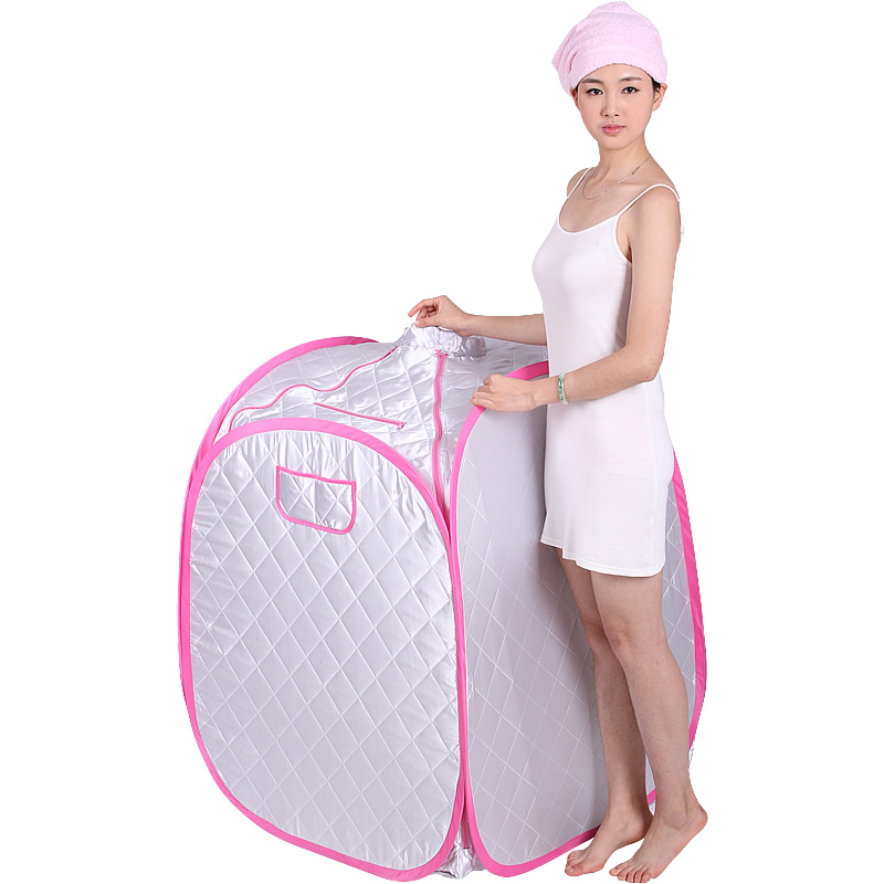 Pink Steam Sauna portable sauna room Beneficial skin infrared Weight loss Calories bath SPA with sauna bag