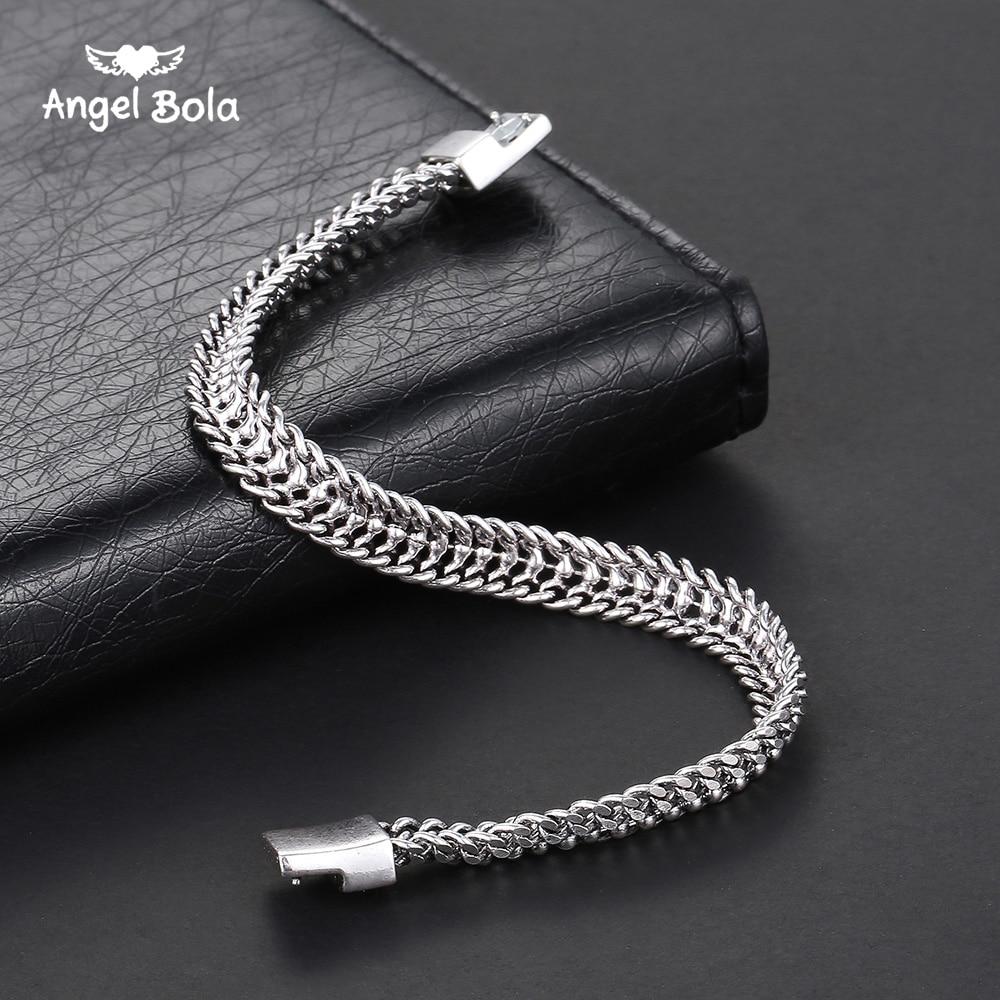 Buddha Bracelet Men Chain & Link Bracelets Fashion Ancient Silver Couples Jewelry Buddha Bracelets & Bangles Pulseira Masculin