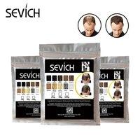 Спрей-аппликатор рост SEVICH волос волокно спрей для волос кератин волос строительное волокно порошок Стайлинг блендер 100 г