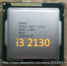 For Intel i3 2130 3M Cache 3.4 GHz LGA 1155 TDP 65W desktop scattered piece processor l3-2130 (working 100% Free Shipping)