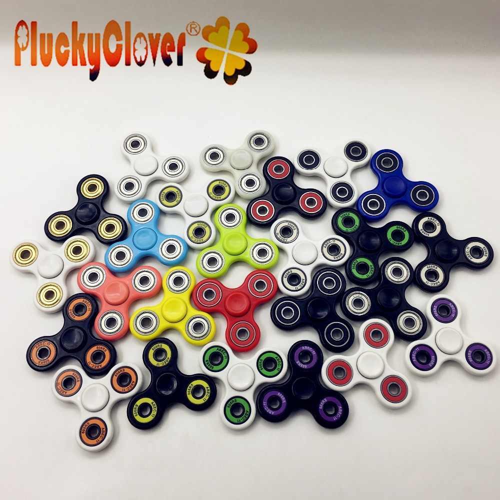 1 pc kolorowe spinner-ręcznie Fidget Spinners EDC palec ręcznie Spiner zabawka na koncentrację lęk stres ulga magia Handspinner zabawka Spinner