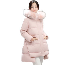 Woman Basic Puffer Jacket Pink Red Blue Black Green Quilted Coat Women's Fur Hooded Puff Coat Lady Chic Parka Plus Size Overcoat