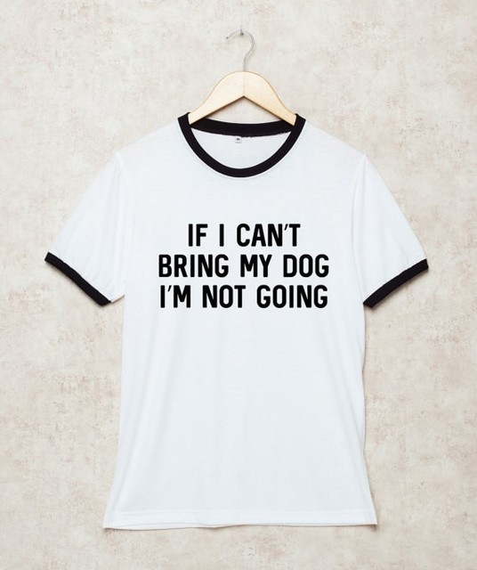 Se Posso T Portare Il Mio Cane I M Non Sta Andando Dog Shirt