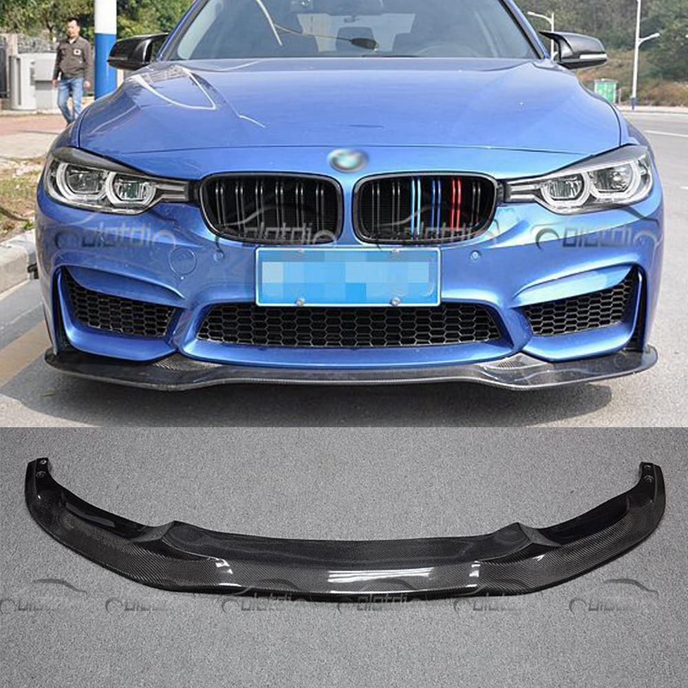 Pare-chocs avant en Fiber de carbone Style PSM pour BMW F30 AN pare-chocs