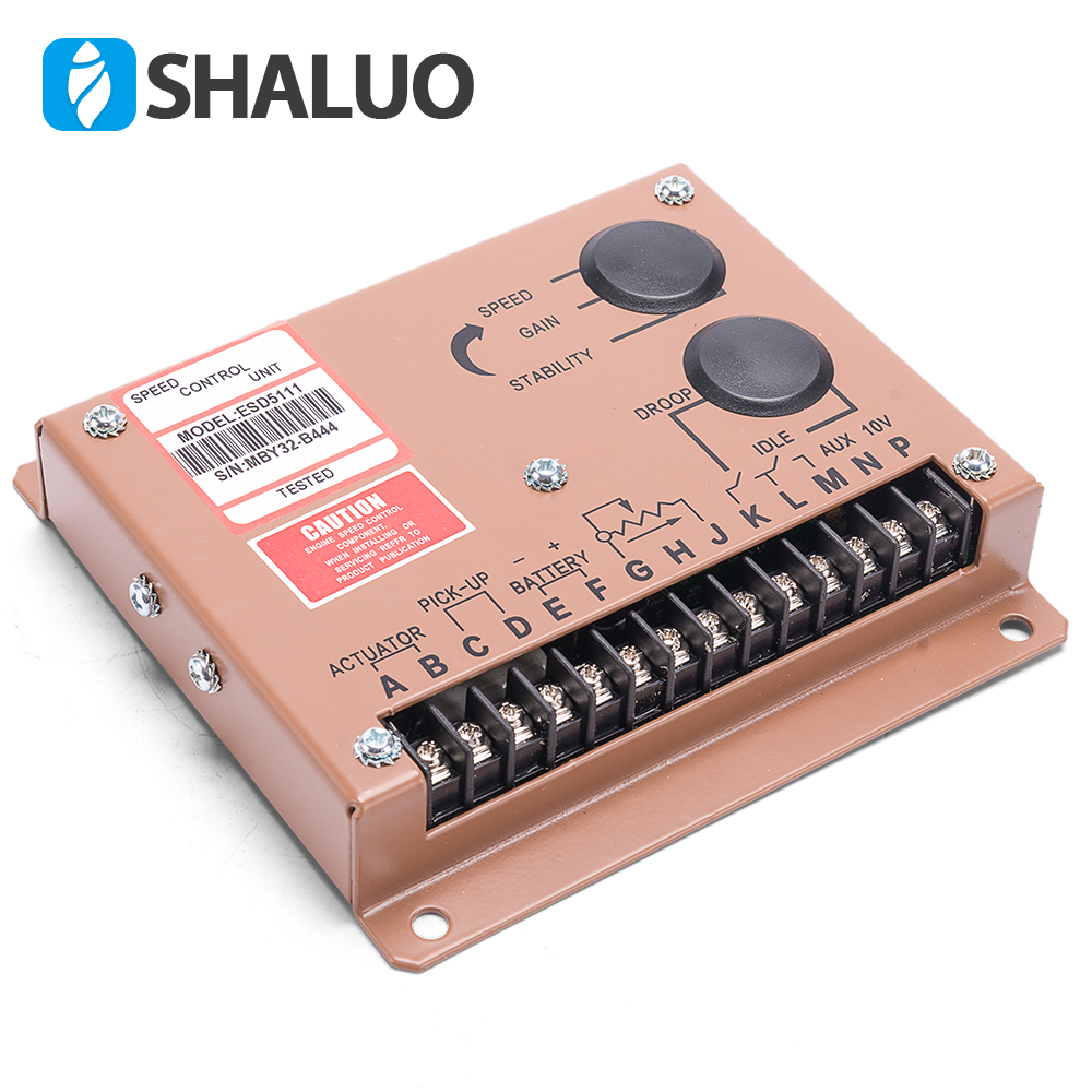 Generator Speed Controller ESD5111 genset repair part electric diesel engine speed govornor brushless alternator motor regulatorGenerator Speed Controller ESD5111 genset repair part electric diesel engine speed govornor brushless alternator motor regulator