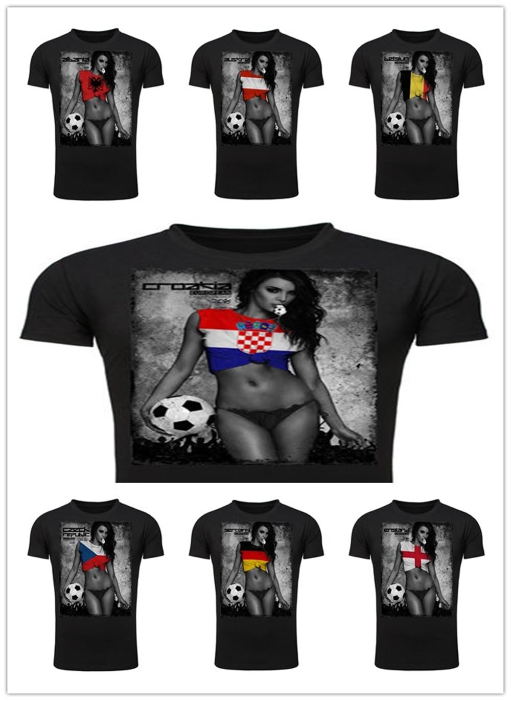 Black flag t shirt europe - European Champion Fussball Em T Shirt Albania Austria Belgien Croatia Czech Germany England Tee T