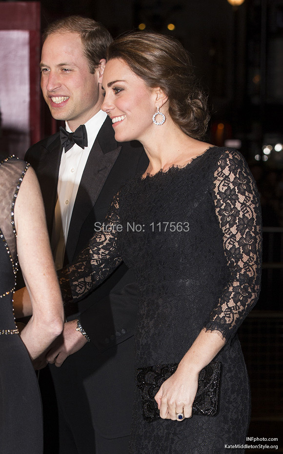 DVF Zarita Lace Dress, as worn by #KateMiddleton to the #RoyalVarietyPerformance 3.jpg
