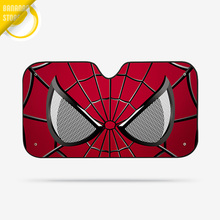 Spider Man Avenger Marvel Car Windshield Sunshade Windscreen Cover Solar Protection Auto Zonnescherm Parasole Parasol Coche B10