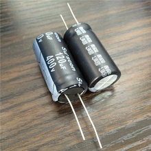 2pcs 120uF 400V Su'scon SK Series 18x35mm 400V120uF Aluminum Electrolytic capacitor