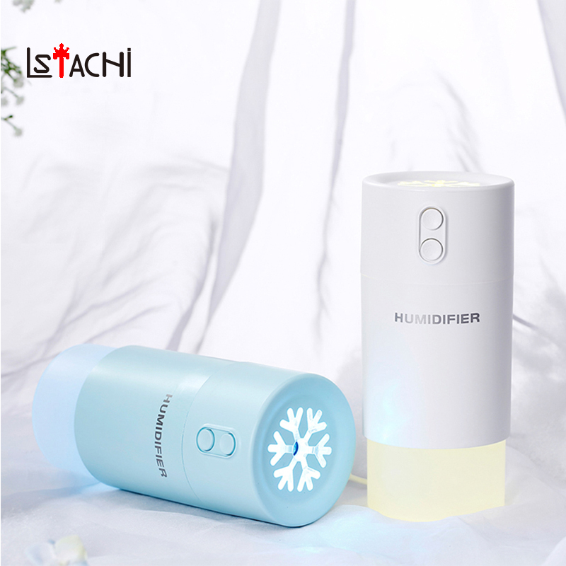 LATSCHi USB Aroma Air humidifier aromatherapy essential oil diffuser Colorful LED Light Changing Ultrasonic electric Mist Maker