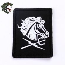 "TSNK New Enthusiasts ""NAVY SEAL/DEVGRU/Black Squadron Team"" Tactical Morale Patch Army Badge Armlet(China)"