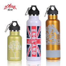 Outdoor sports bottle large capacity stainless steel thermal bottle
