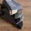 4 Пар мужская Теплая Зима Толщиной Ангора Кашемир Повседневную одежду Из Шерсти Смеси Носки
