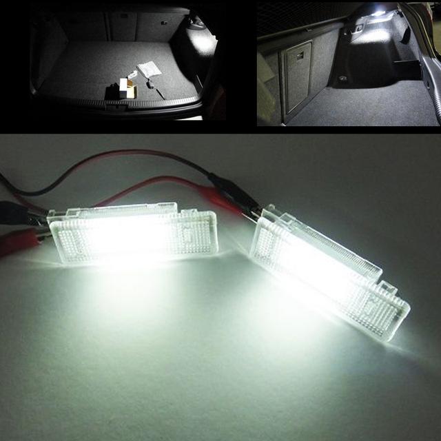 1 pcs Nenhum erro LED Car Bagagem luz Compartimento Para Transportør Seat Alhambra Altea Cordoba/Vario Ibiza leon/Leon4 Toledo