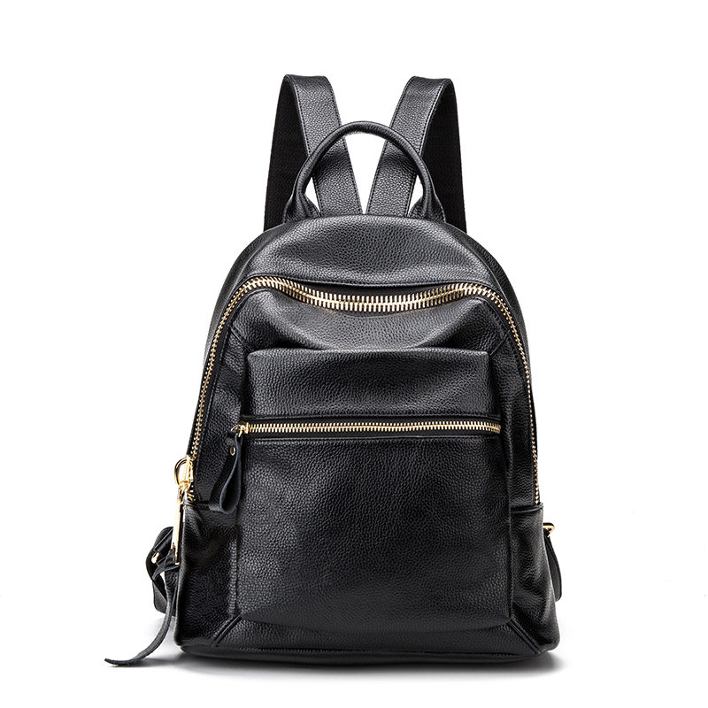 New Arrival Fashion Genuine Leather Women s Backpacks for Teenage Girls Book School Bag Supplies Female