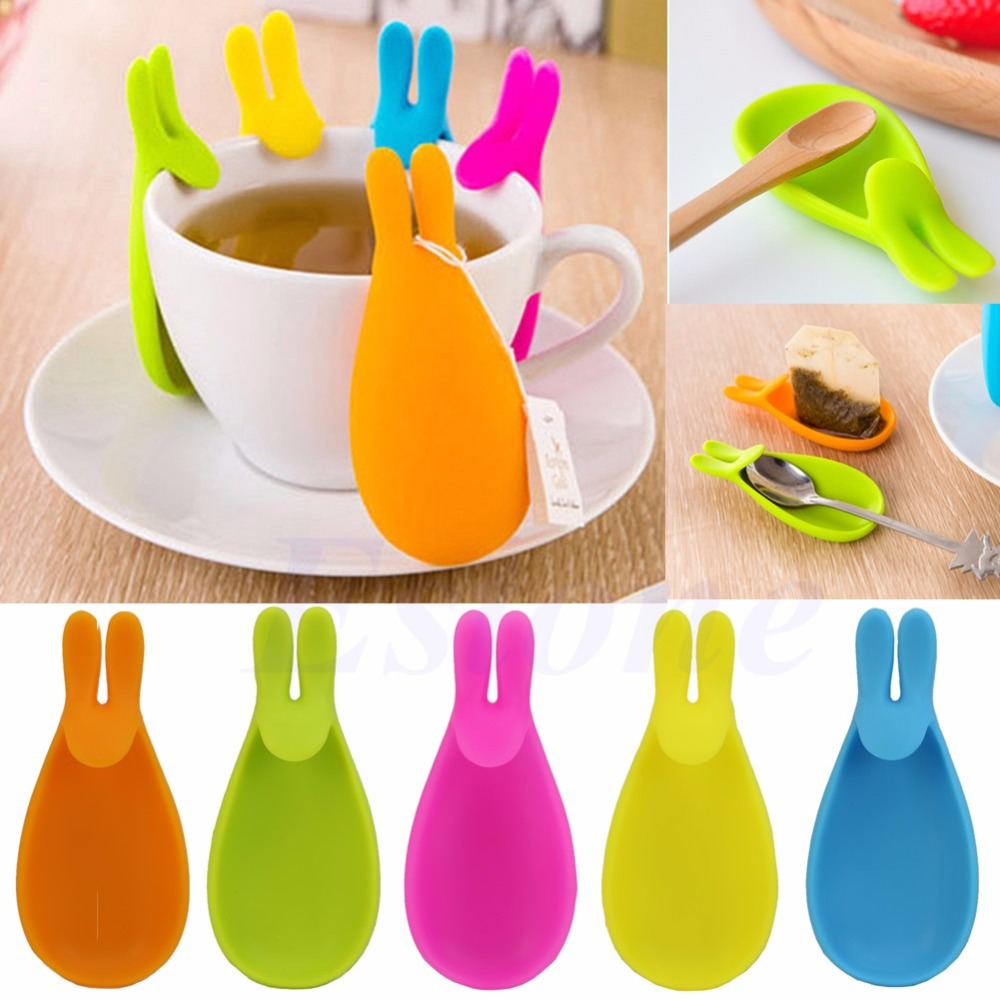 Silicone Tea Infuser Loose Tea Leaf Strainer Herbal Spice Filter Diffuser MA