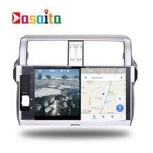 Car 2 din radio android 7.1 GPS Navi for Toyota Prado 150 2014+ autoradio navigation head unit multimedia video stereo 2Gb Ram